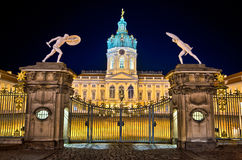 Charlottenburg palace in Berlin, Germany royalty free stock photo