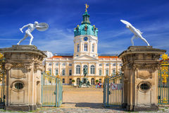 Charlottenburg palace in Berlin Stock Image