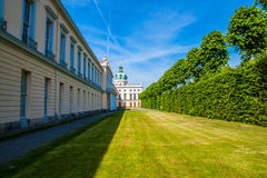 Charlottenburg palace in Berlin Royalty Free Stock Photos