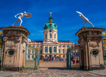 Charlottenburg palace in Berlin Stock Images
