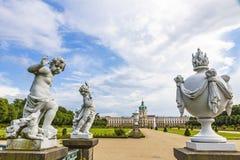 Charlottenburg Palace in Berlin, Germany Royalty Free Stock Photos