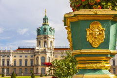 Charlottenburg Palace in Berlin, Germany Stock Images