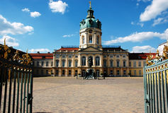 Charlottenburg Palace in Berlin/Germany Stock Photo