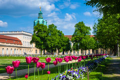 Charlottenburg Palace in Berlin, Germany Stock Photos