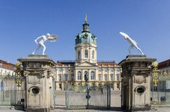 Charlottenburg Palace  Berlin, Germany Royalty Free Stock Image