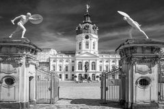 Charlottenburg palace in Berlin Stock Photo
