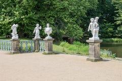 Charlottenburg Palace Berlin Statue Stock Photo