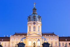 Charlottenburg Palace entrance in Berlin. Charlottenburg Palace in Berlin in Germany on a lovely morning royalty free stock images