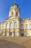 Charlottenburg Palace, famous tourist destination in Berlin Royalty Free Stock Photos