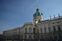 Charlottenburg Palace, Schloss Charlottenburg in Berlin, Germany Stock Photography