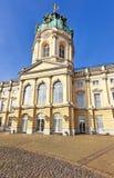 Charlottenburg-Palast, berühmte touristische Zieleinheit in Berlin lizenzfreie stockfotos