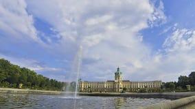 Charlottenburg-Palast in Berlin, Deutschland stock video