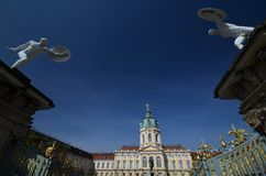 Charlottenburg-Palast, Schloss Charlottenburg in Berlin, Deutschland lizenzfreie stockbilder