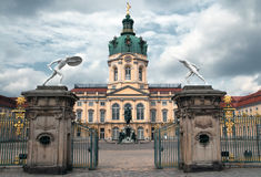 Charlottenburg-Palasteingang Berlin Lizenzfreies Stockbild