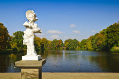 Charlottenburg park in Berlin Royalty Free Stock Photos