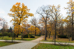 Charlottenburg Park, Berlin Stock Photo