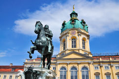 charlottenburg schloss Obrazy Stock
