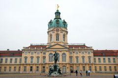 Charlottenburg Schloss стоковые фотографии rf
