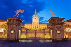 Charlottenburg slott Royaltyfri Foto