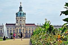 Charlottenburg slott Fotografering för Bildbyråer