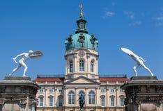 Charlottenburg slott Berlin Royaltyfri Fotografi