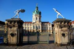 Charlottenburg slott Berlin Fotografering för Bildbyråer