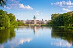 Charlottenburg slott i Berlin, Tyskland Royaltyfri Fotografi