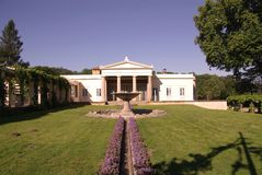 The charlottenhof palace in Potsdam Stock Photo