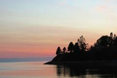 Charlottetown PEI Sunset Fotografía de archivo libre de regalías