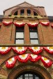 Charlottetown stadshus i prinsen Edward Island royaltyfri foto