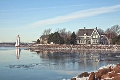 Charlottetown Waterfront Royalty Free Stock Photo