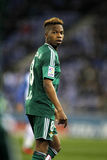 Charly Musonda Junior of Real Betis. During a Spanish League match against RCD Espanyol at the Power8 stadium on March 3, 2016 in Barcelona, Spain stock image