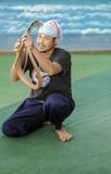 Charmör av ormen på dragning Royaltyfri Foto