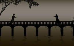 Charmör- och julietshakespeare s lek, datum, verona brokontur, kärlekshistoria, vektor illustrationer