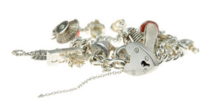 Charm bracelet Royalty Free Stock Photos