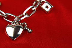 Charm bracelet Stock Photo