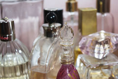 Charm fragrances and sensuality Royalty Free Stock Photos