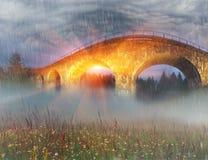 Charm of the historic bridge Royalty Free Stock Image