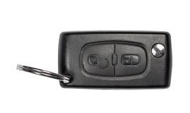 Charm key car on white Stock Images