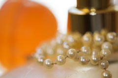 Charm and pearl Royalty Free Stock Images