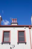 Charma Melbourne byggnad Arkivfoto