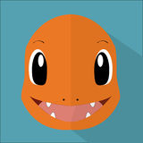 Charmander stock illustratie