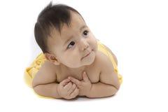 Charmante baby Royalty-vrije Stock Afbeeldingen