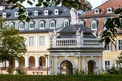 Wilhelmsbad in Hanau, dichtbij Frankfurter worstje op Leiding Stock Afbeeldingen