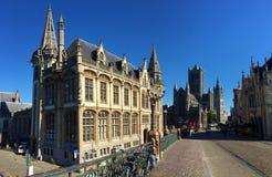 Charmante straten van Metz Frankrijk stock fotografie