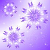 Charme de lilas de fond de vecteur Photos libres de droits