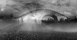 Charme der historischen Brücke lizenzfreies stockbild