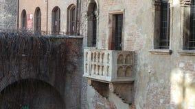 Charmeur y Julieta Balcony Royalty-vrije Stock Afbeeldingen