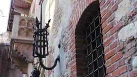 Charmeur y Julieta Balcony stock afbeeldingen
