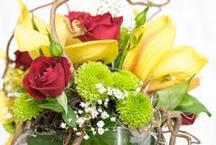 Charmig blommasammansättning Royaltyfri Fotografi